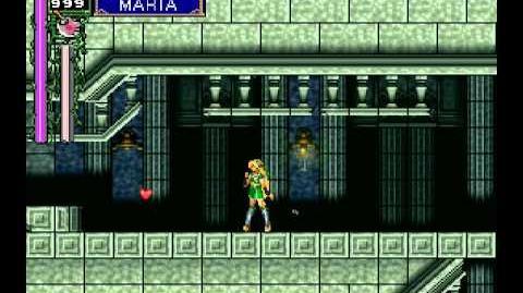 Castlevania Nocturne of Moonlight - Maria playthrough (205