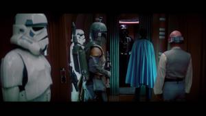 Darth Vader elevator