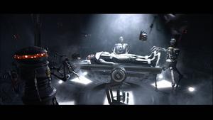 Darth Vader operated