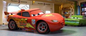 McQueen's new WGP paint job