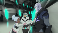 Shiro, Ulaz and Allura