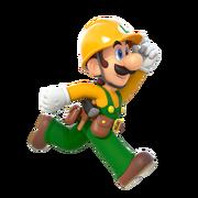 Super Mario Maker 2 - Luigi running artwork.png