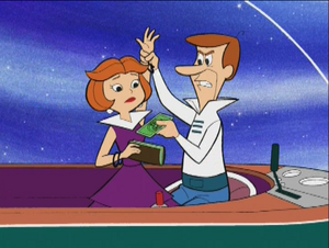 Geroge Jetson and Jane Jetson on Family Guy