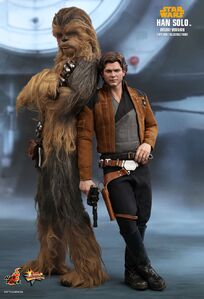 Hot-toys Han Solo and Chewbacca SOLO