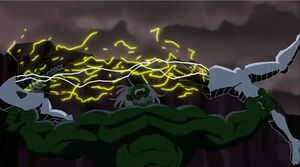 Hulk defeats Ultron