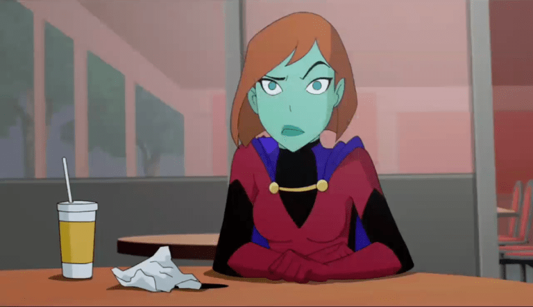 Miss Martian (DC Animated Universe)