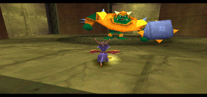 Spyro vs gnasty gnorc