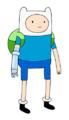 Finn with bionic arm