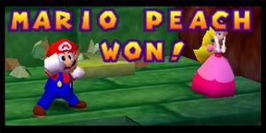 Mario party 2 mario and peach