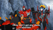 Sideswipe, Windblade, Jetstorm and Slipstream (1)