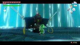 Toon Ganondorf vs. Toon Link