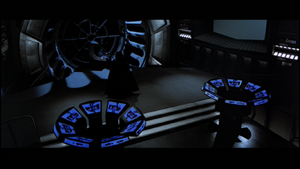 Darth Vader following