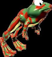 DKC-Winky the Frog