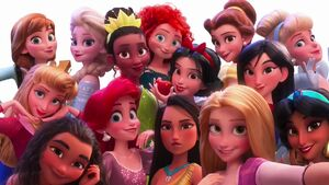 Disney Princesses Selfie