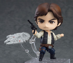 Han Solo Nendoroid (with Falcon)