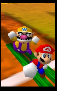 Mario party 64 wario and mario in the desert