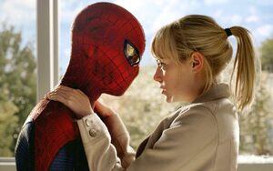 Gwen and Spider-Man 3