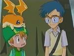 Joe, Takeru and Patamon (Ep. 37)