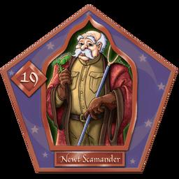 Newt Scamander-19-chocFrogCard