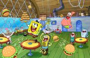 SpongeBob SquarePants Nickelodeon Nick Press SBSP
