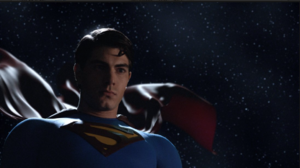 Superman watching over the stars