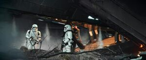 Kylo carries Rey 4