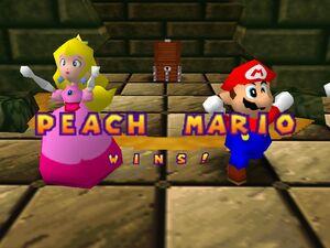 Mario party 64 mario and peach