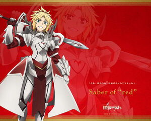 Mordred Official Anime Wallpaper
