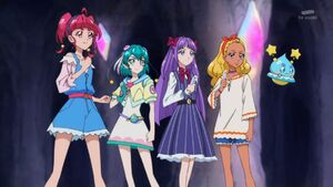 STPC19 The girls get ready to transform