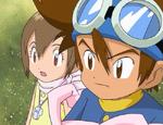 Taichi and Hikari (Adventure Ep. 43)