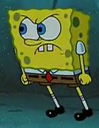 Spongebob stands up