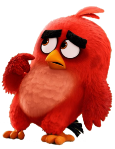 Angry Birds Movie Red 5