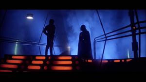 Darth Vader face-to-face