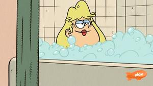 Rita Loud bath