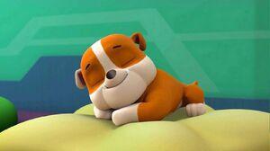 Rubble sleeping by lah2000 dd5lwyd