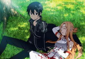 Yande.re 287243 asuna (sword art online) kirito sword art online