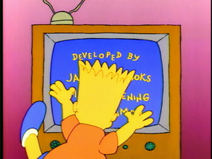 Bart the Genius (Couch gag)