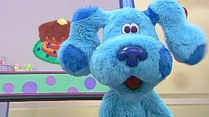 Blue's Clues Blue's Room Blue loves blueberry pancakes