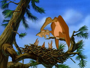 Ducky and Pterodactylus