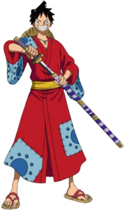 Luffy's First Outfit in Wano Country Arc