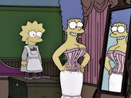 Marge in her Corset