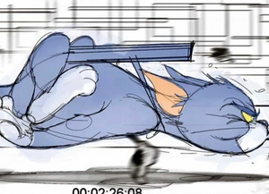 Tom and Jerry (2020 film) Storyboard 2