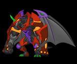 Dragonoid x Tretorous anime