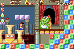 Mario VS King Wart in Super Mario Advance
