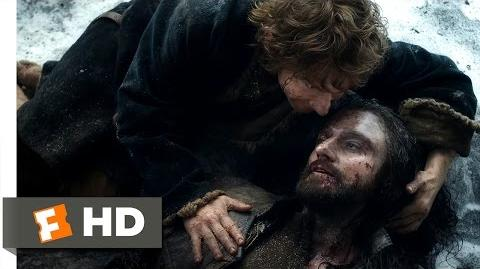 The Hobbit The Battle of the Five Armies - A True Friend Scene (10 10) Movieclips