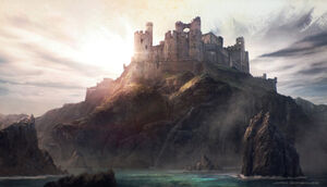 The world of ice and fire Evenfall Hall by jordigart-d84lodg