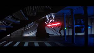 Darth Vader under