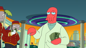 Dr. Zoidberg With Money