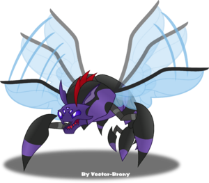 Pharynx bug form by vector brony-dbm8cj9
