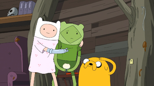 Two Swords - Finn, Fern and Jake 00